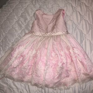 Pink baby dress
